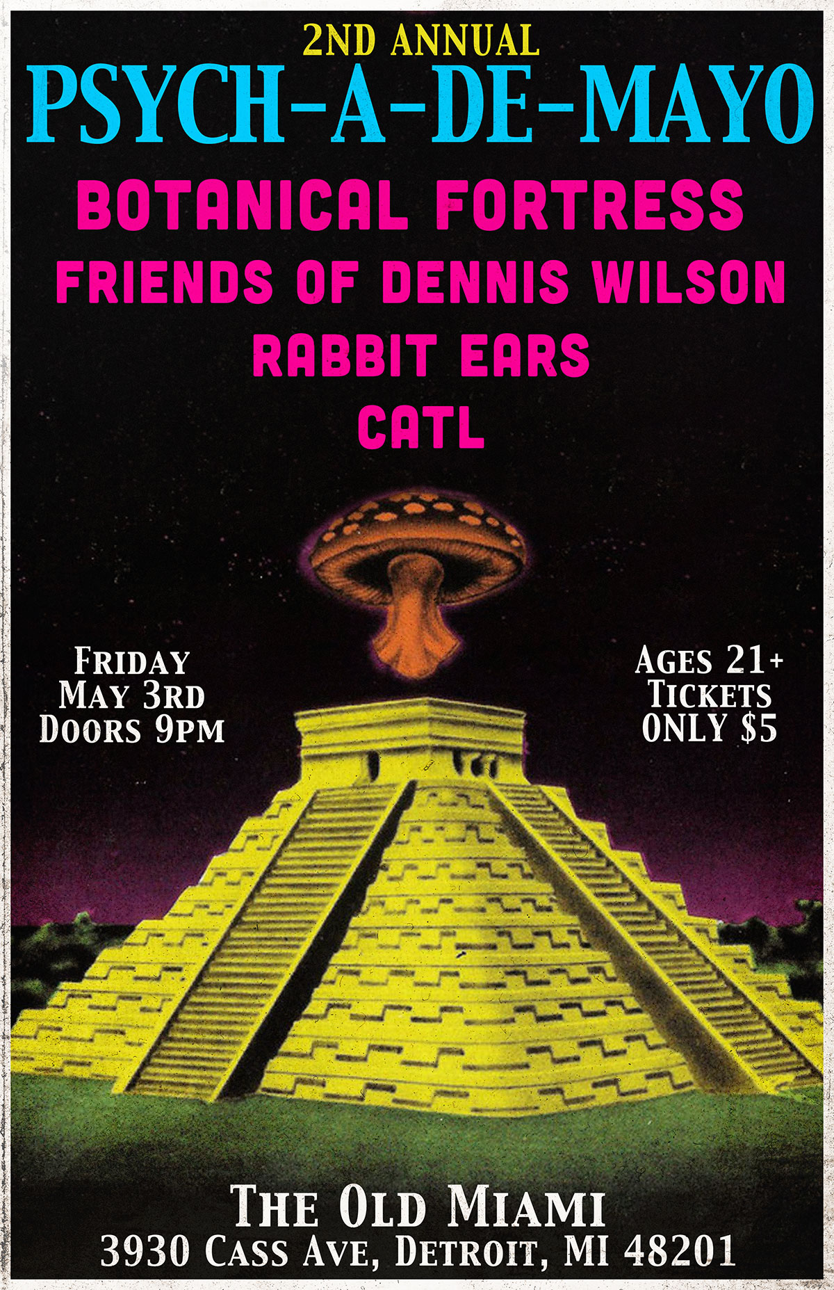 Friends of Dennis Wilson at PSYCH-A-DE-MAYO - Friends of Dennis Wilson